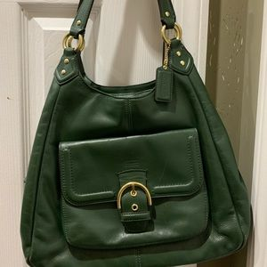 Green Coach Bag